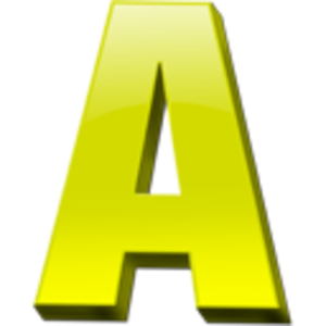 Letter A for Arts